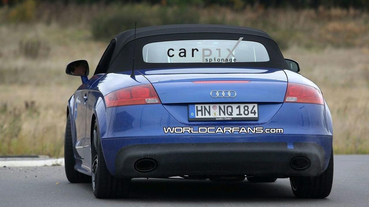 Audi TT-RS Roadster Spy Photos