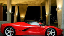 LaFerrari at Art Basel Miami exhibition