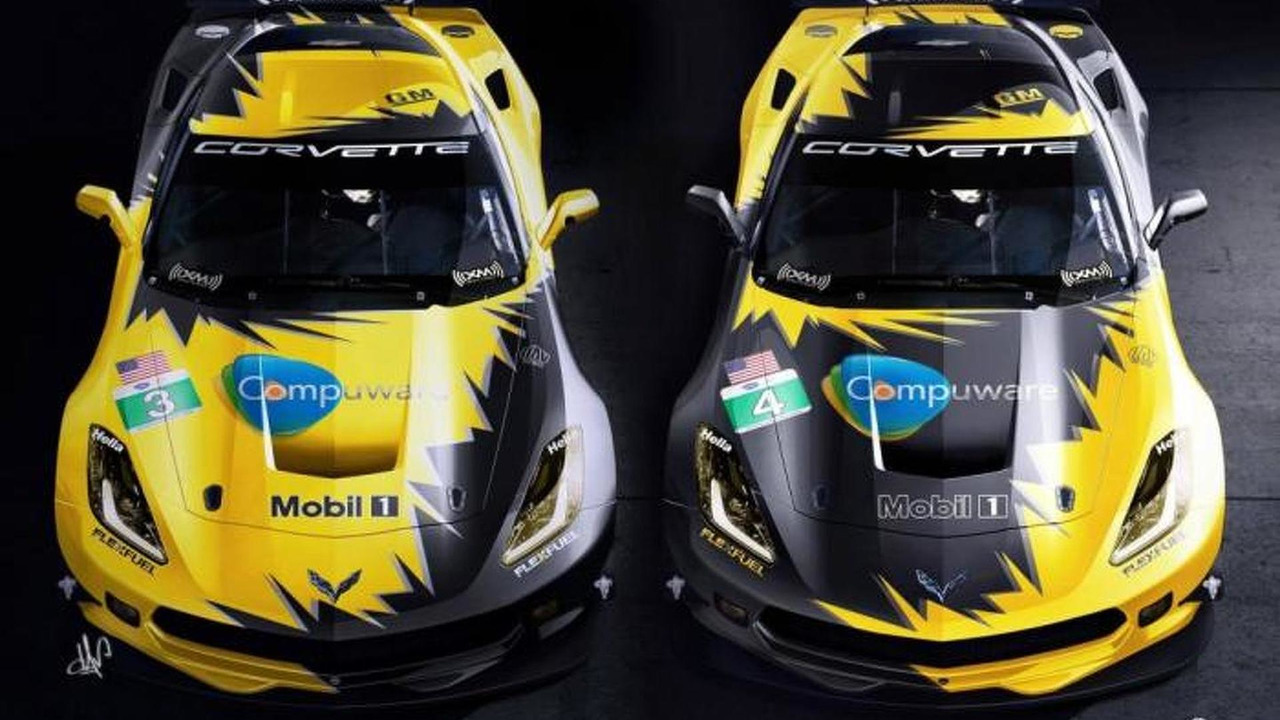 2014 Corvette C7.R race car 28.10.2013