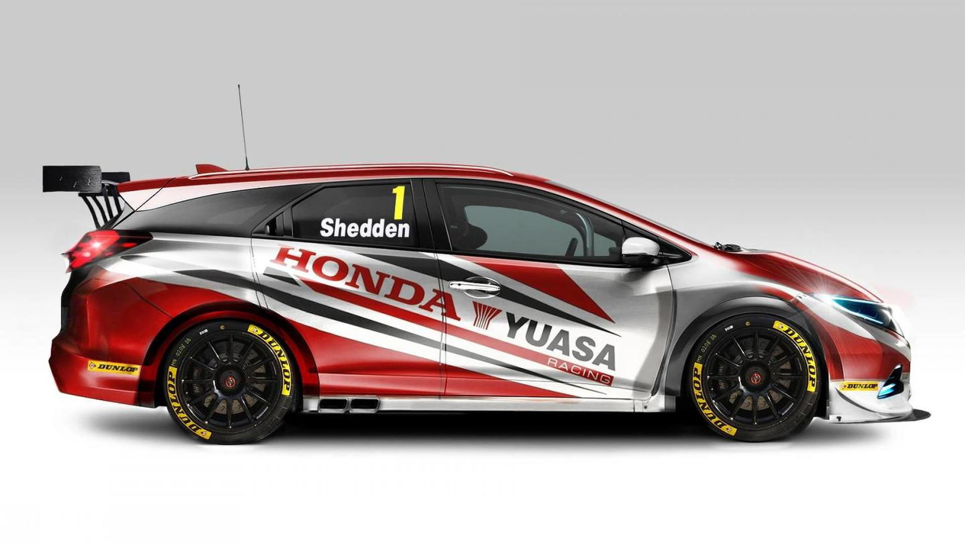 Honda Civic Tourer BTCC unleashed