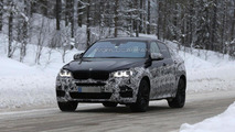 2015 BMW X6 M spied undergoing cold weather testing