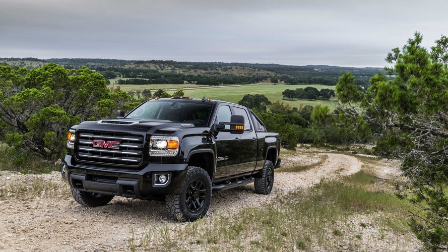 2017 GMC Sierra HD All Terrain X blends sinister looks with 910 lb-ft
