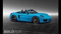 Porsche Boxster S Riviera Blue