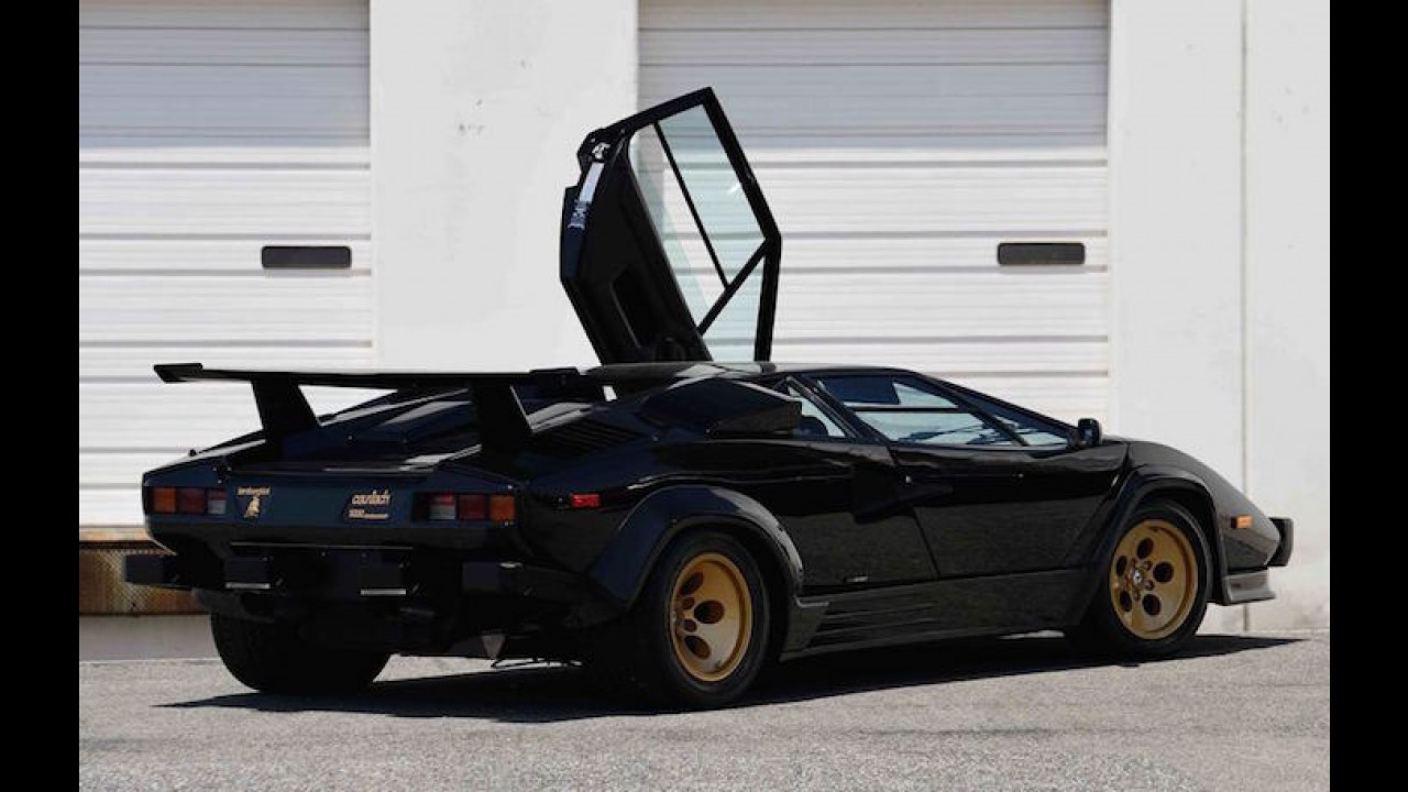 This Lamborghini Countach Has Less Than 10,000 Miles To Its Name