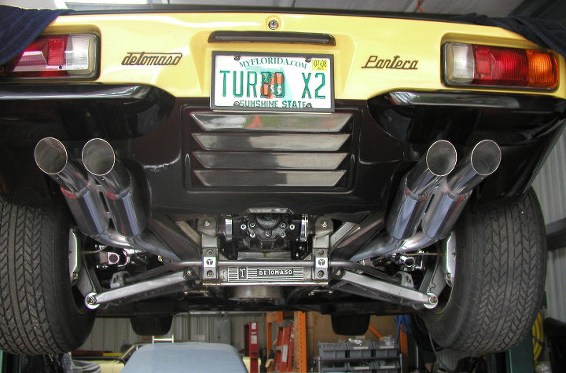 Your Ride: 1974 DeTomaso Pantera GTS