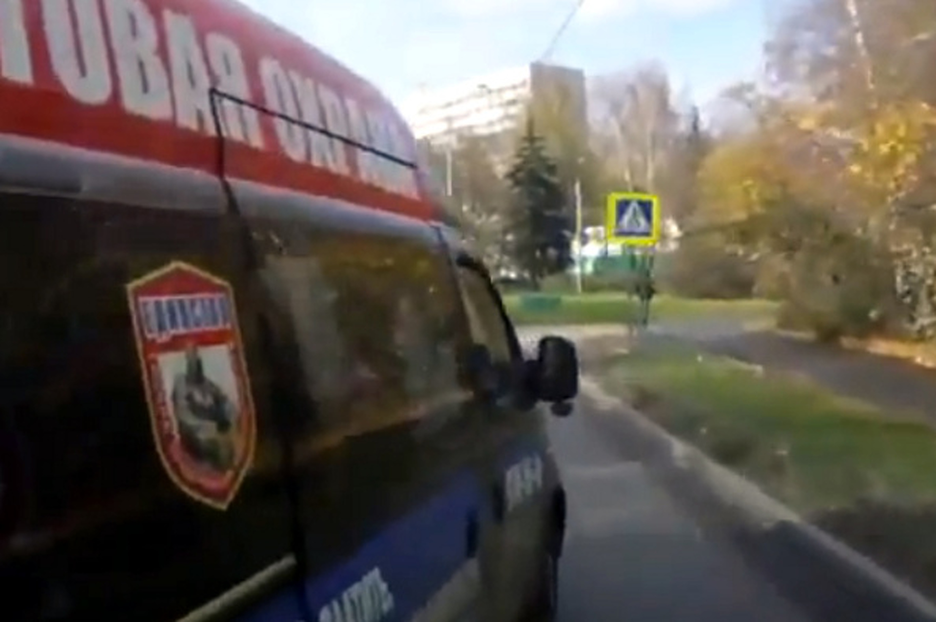 Video: Russian Bus Driver Shows No Mercy, Plows Through Everyone