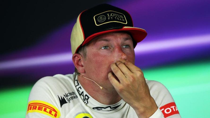Sick Raikkonen skips Spa spotlight