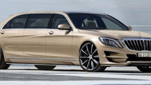 ARES Atelier offering a Pullman-like S-Class