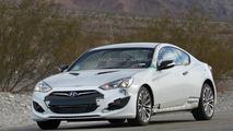 2016 Hyundai Genesis Coupe spied