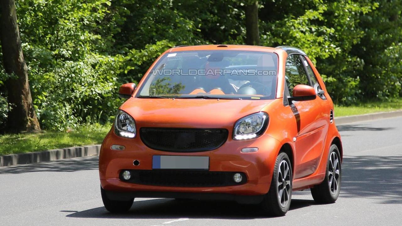 2015 Smart ForTwo Cabrio spy photo