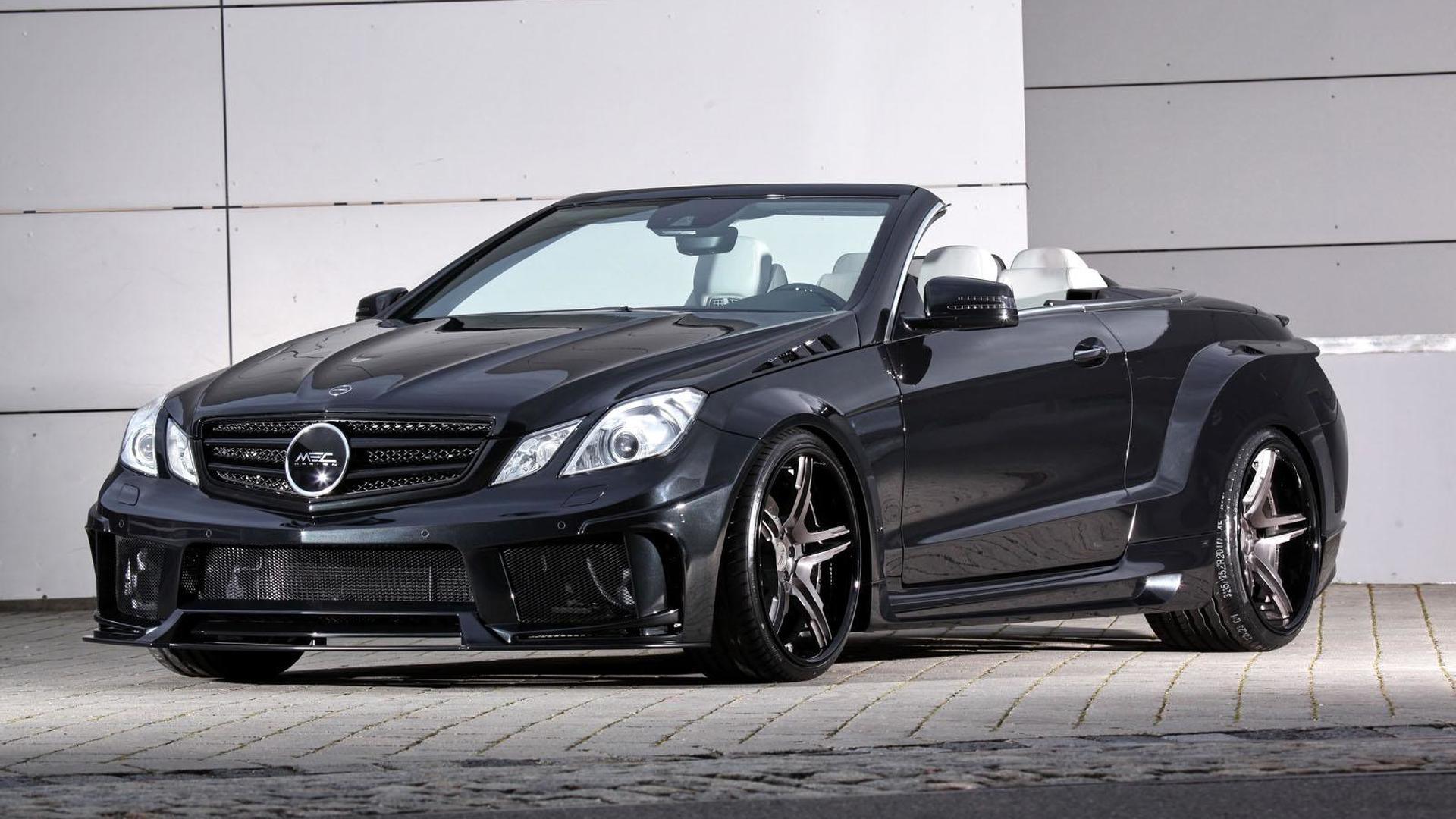 Mercedes E-Class Coupe & Convertible get an aggressive look from MEC Design