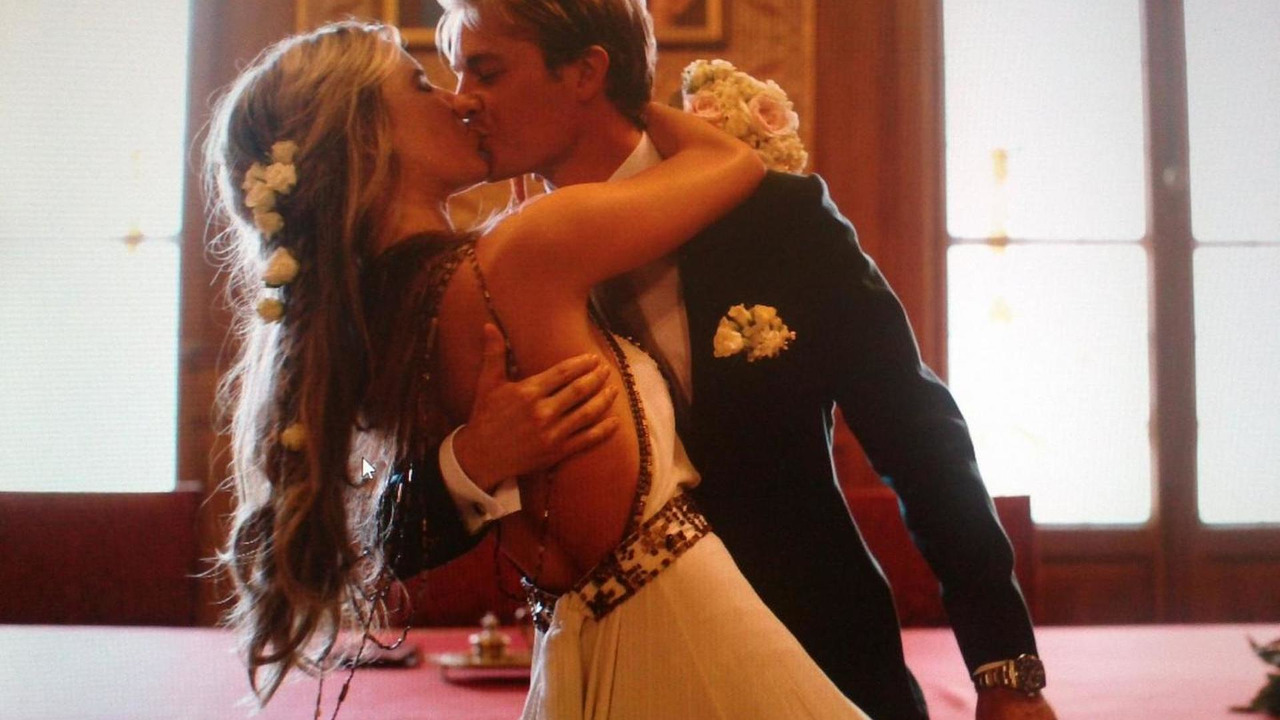 Nico Rosberg and his wife