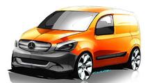 Mercedes-Benz Citan urban delivery van previewed