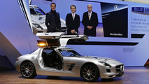 Mercedes SLS AMG F1 Safety Car at Genenva Motor Show