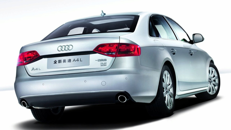 Audi A4L long-wheel-base revealed for Chinese market