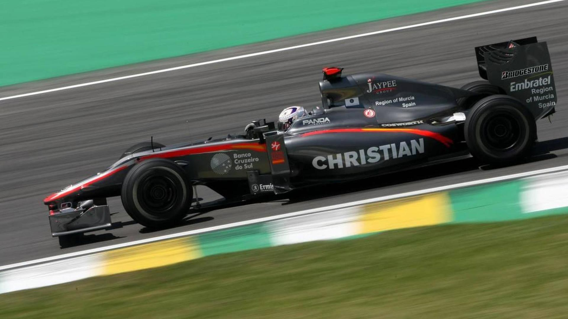 Klien travels to Abu Dhabi but not sure of race seat