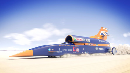 Bloodhound SSC Jet Car Run Delayed, Can't Outrun Funding Problems