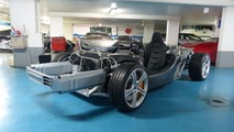 McLaren MP4-12C rolling chassis