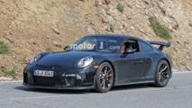 Porsche 911 GT3 Refresh Spy Shots