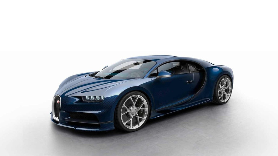Check out the Bugatti Chiron in various colors