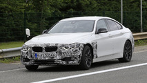 2017 BMW 4 Series Gran Coupe facelift spy photos