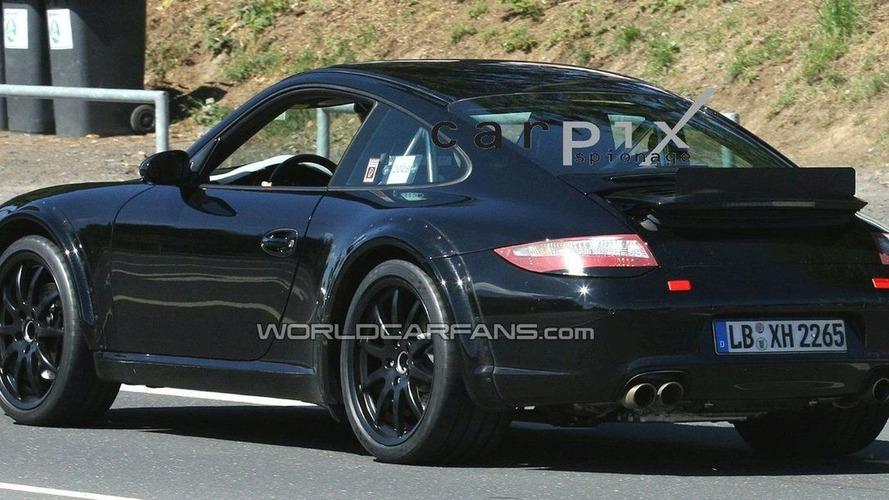 Porsche 998 Test Mule First Spy Photos