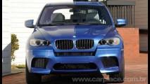 BMW apresenta oficialmente a série esportiva M do utilitário X5 e do crossover X6 - Veja fotos