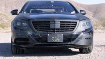 2013 Mercedes S-Class Spy Photo
