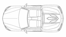 Acura NSX Roadster patent drawing 05.3.2012