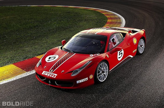 Ferrari Planning 600-HP 458 Scuderia for Frankfurt