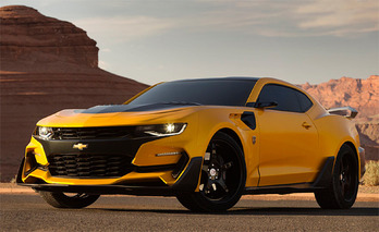 Bumblebee Returns to 'Transformers' as an Aggressive 2016 Chevrolet Camaro