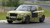 Mini Countryman JCW returns to the Ring showing new details