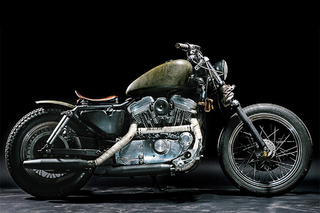 "This Harley Davidson ""Witch"" is Dirty and Distressed, But So Beautiful"