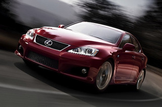 2015 Lexus IS F Ditching V8