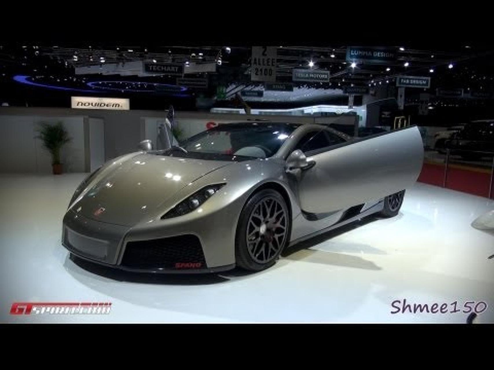 GTA Spano - Geneva 2012 with GTspirit.com