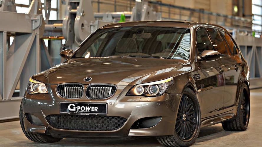 G-Power unleashes 820 HP BMW M5 Hurricane RR Touring