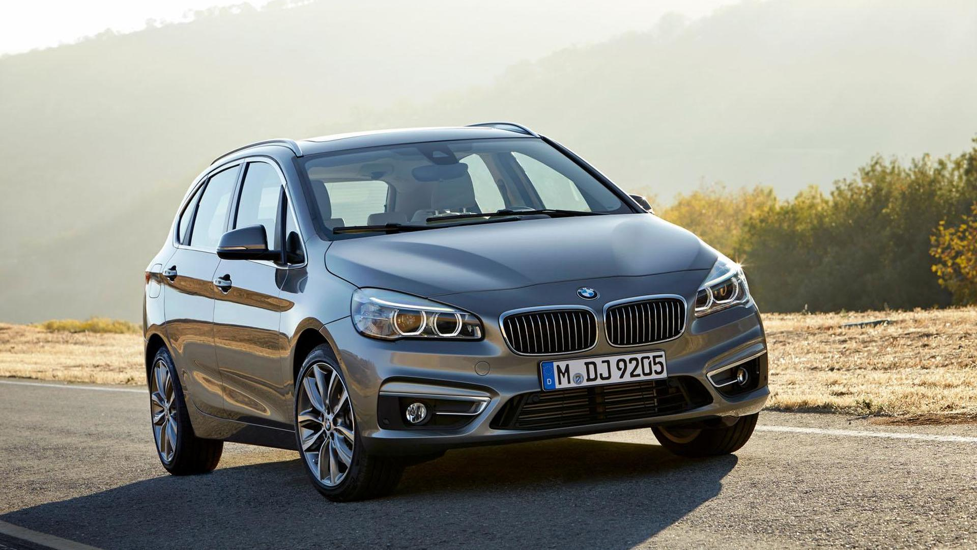 BMW has low expectations for the 2-Series Active Tourer in the U.S. - report