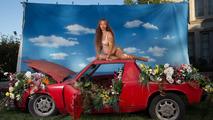 Beyonce's pregnancy photos shot atop a dirty Porsche 914