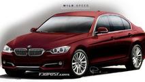 2012 F30 BMW 3-Series rendered
