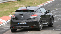 Renault Megane RS special edition spy photos, Nurburgring, Germany, 29.06.2010