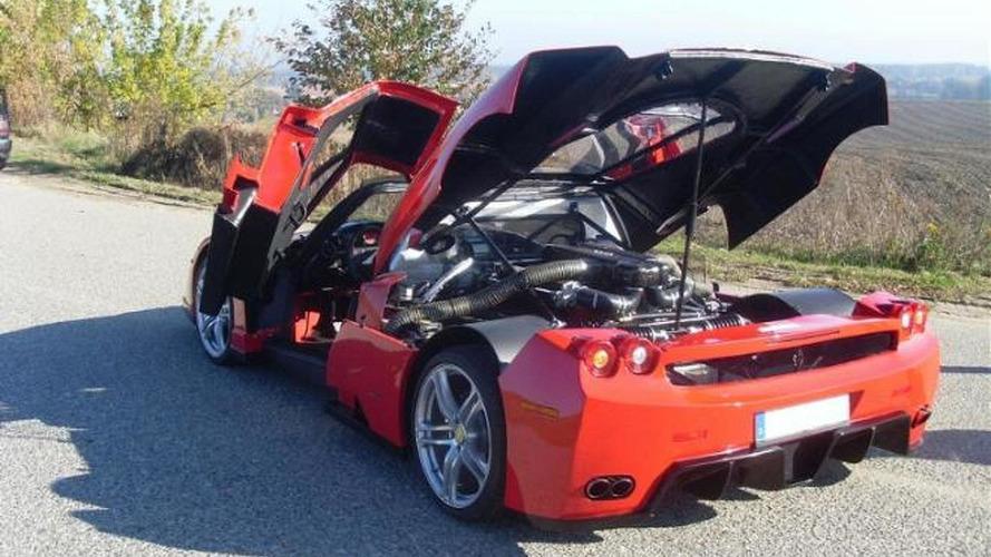 Ferrari Enzo replica powered by BMW V12 engine