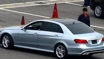 2013 Mercedes-Benz E-L seen before Auto Shanghai debut tomorrow