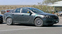 New Opel Vectra/Saturn Aura Spied in Death Valley
