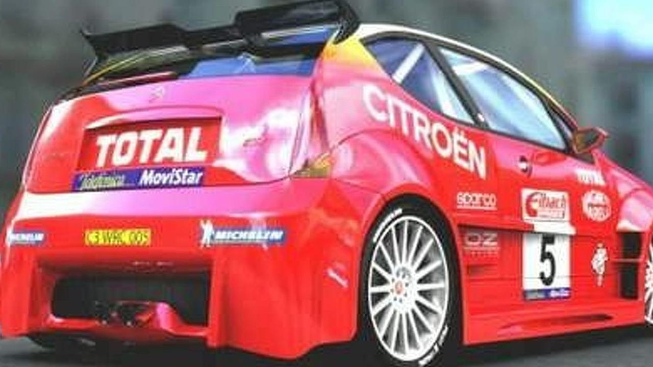 Citroen C3 S2000 rendering