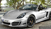 Porsche 981 Boxster R rendered & speculated