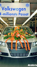 14 million VW Passat Produced