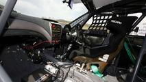 Cockpit of the Subaru Impreza STI, Nurburgring 24 Hours 2009