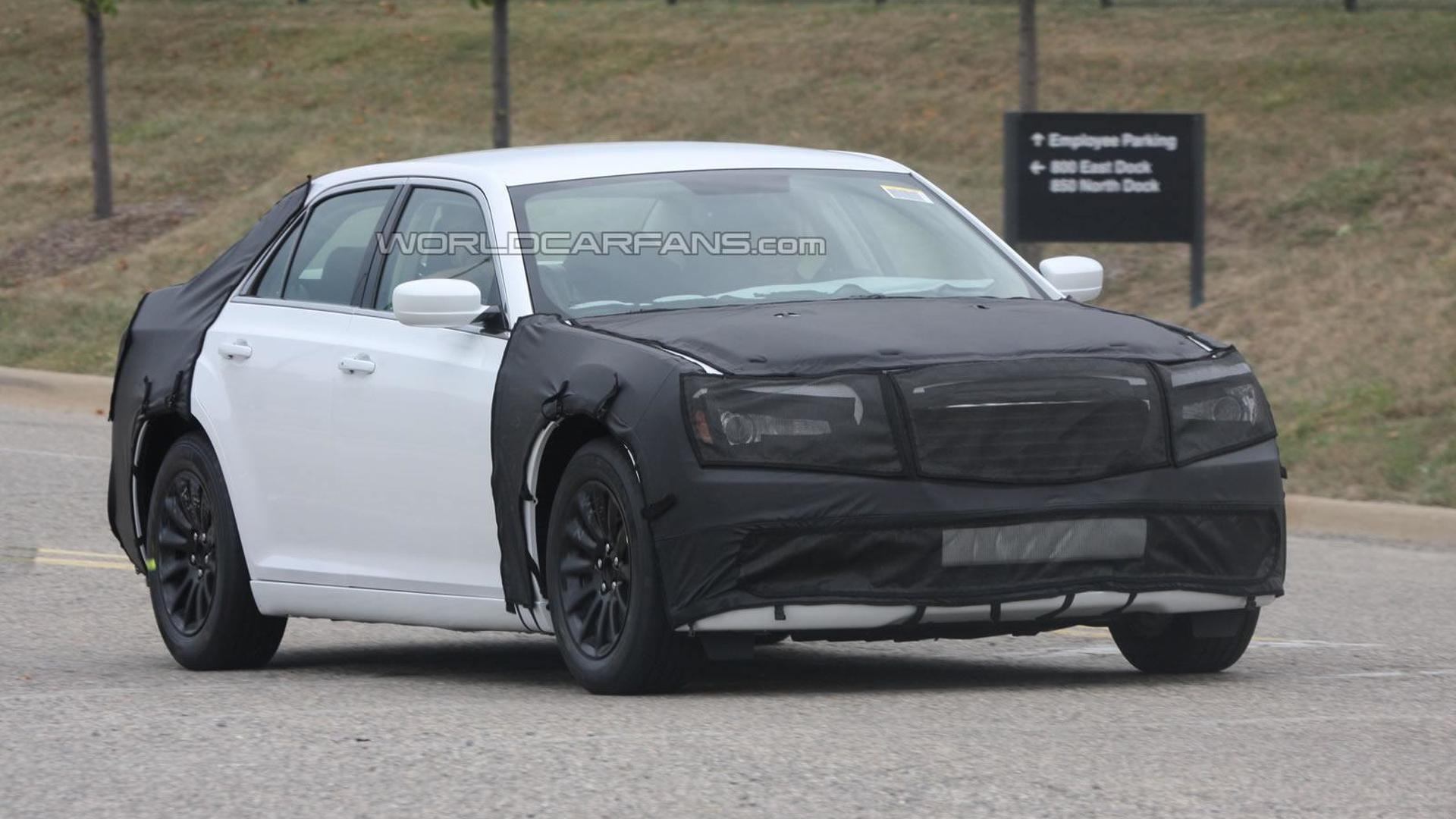 2012 Next generation Chrysler 300 spied