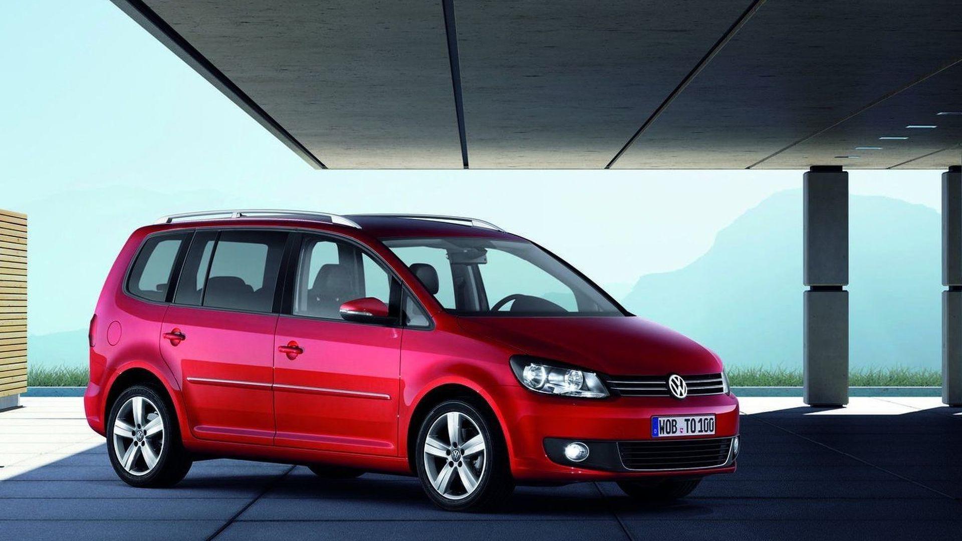 2014 Volkswagen Touran comes into focus - rumors