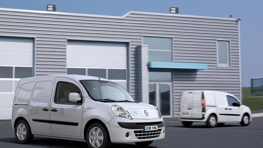 Renault Kangoo Express Z.E. premiered in Hanover with a price tag of €20,000